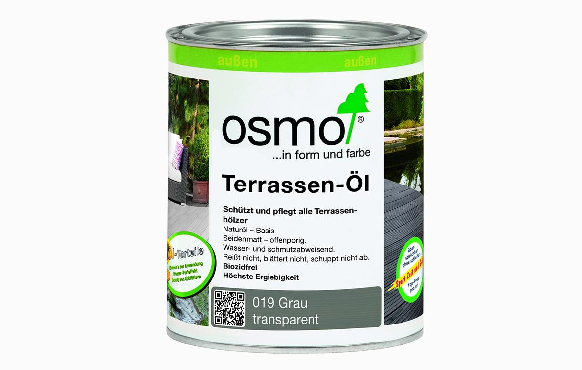 OSMO Graues Terrassen-Öl