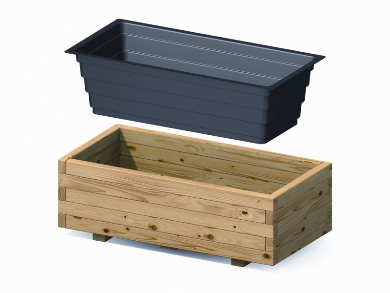 kunststoffeinsatz f r pflanzkasten cora 4 eck holzland k ster emmerke hildesheim online. Black Bedroom Furniture Sets. Home Design Ideas