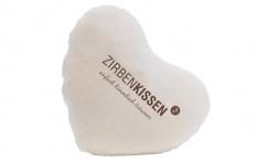 Original ZirbenKissen Herz 40x40 Natur